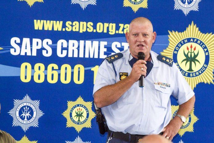 Limpopo's Deputy Police commissioner, Maj-Genl Jan Scheepers