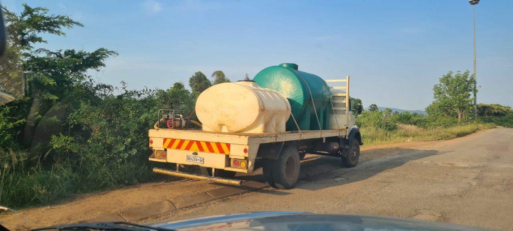 Water trucks in Tzaneen