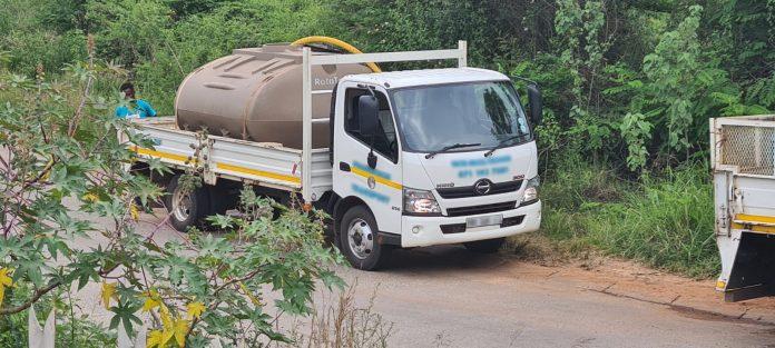 Water truck Bulletin Tzaneen