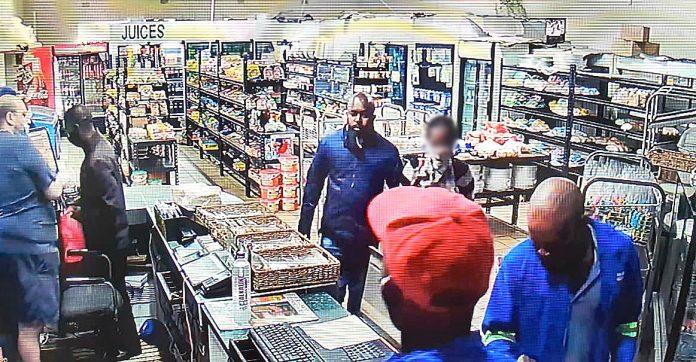 Safari Cafe robbery